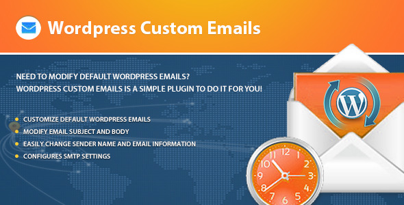 Wordpress Custom Emails