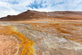 Stone Desert at Geothermal Area Hverir, Iceland - PhotoDune Item for Sale