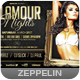 Glamour Nights Flyer Template - GraphicRiver Item for Sale