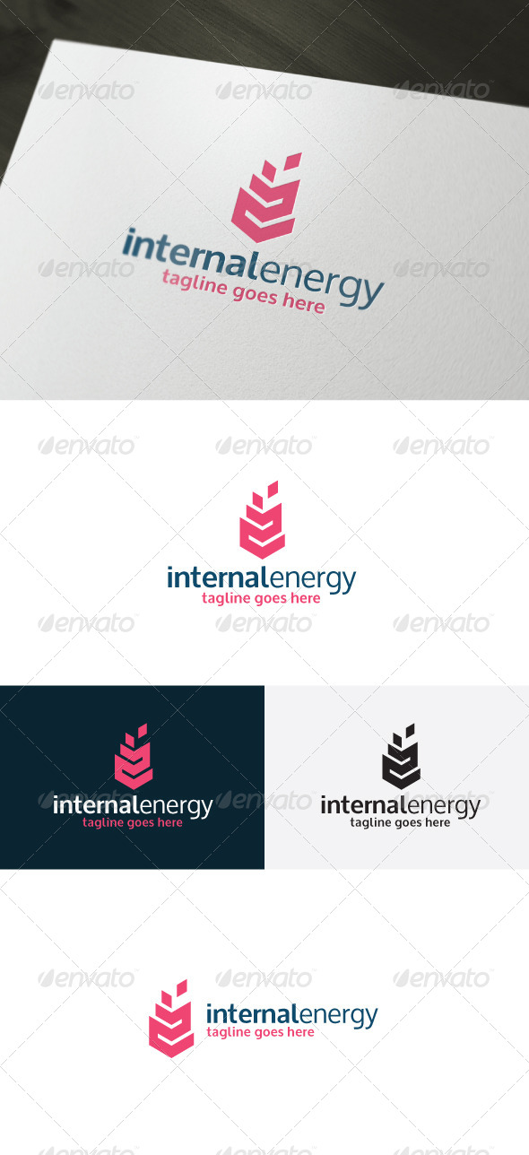 GraphicRiver Internal Energy Logo 7017892