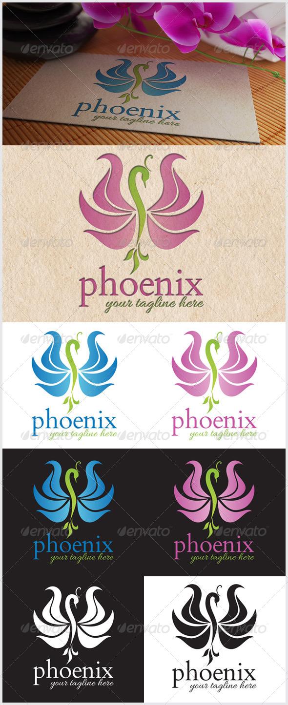 GraphicRiver Phoenix Logo 7017988