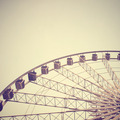 Ferris wheel with retro filter effect - PhotoDune Item for Sale