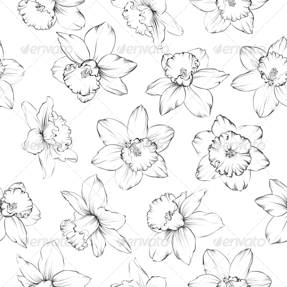 GraphicRiver Floral Pattern 7018045