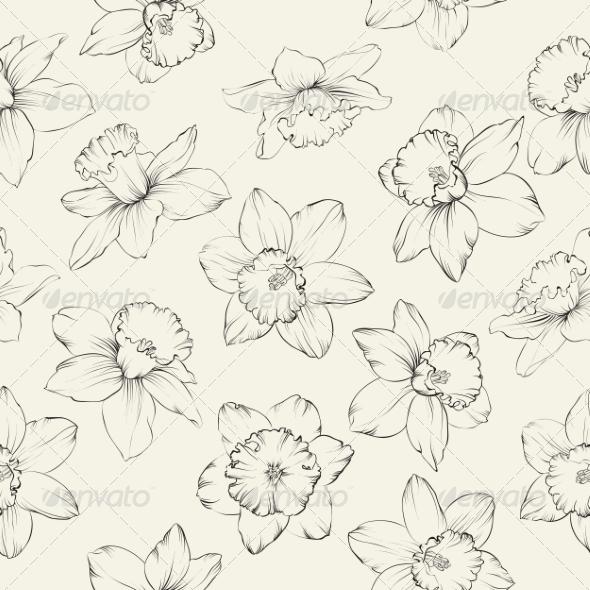 GraphicRiver Flower Pattern 7018071
