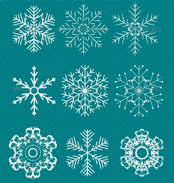 GraphicRiver Snowflake 7018299