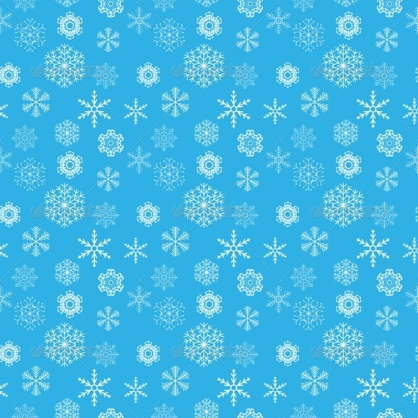 GraphicRiver Snowflake Pattern 7018329
