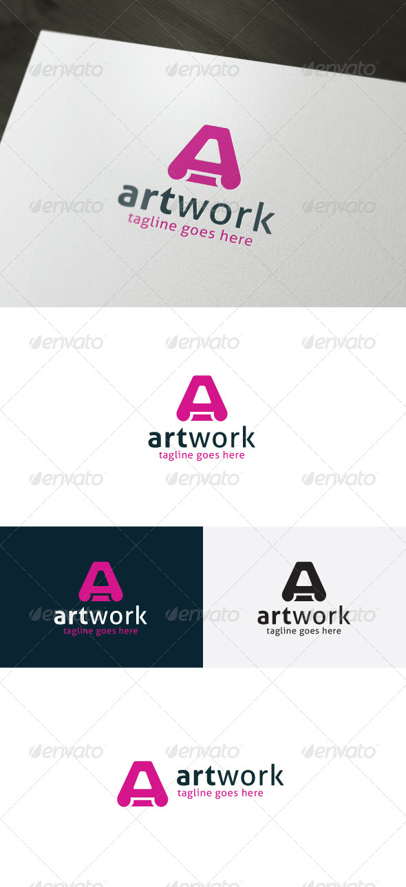GraphicRiver Art Work Logo 7018403