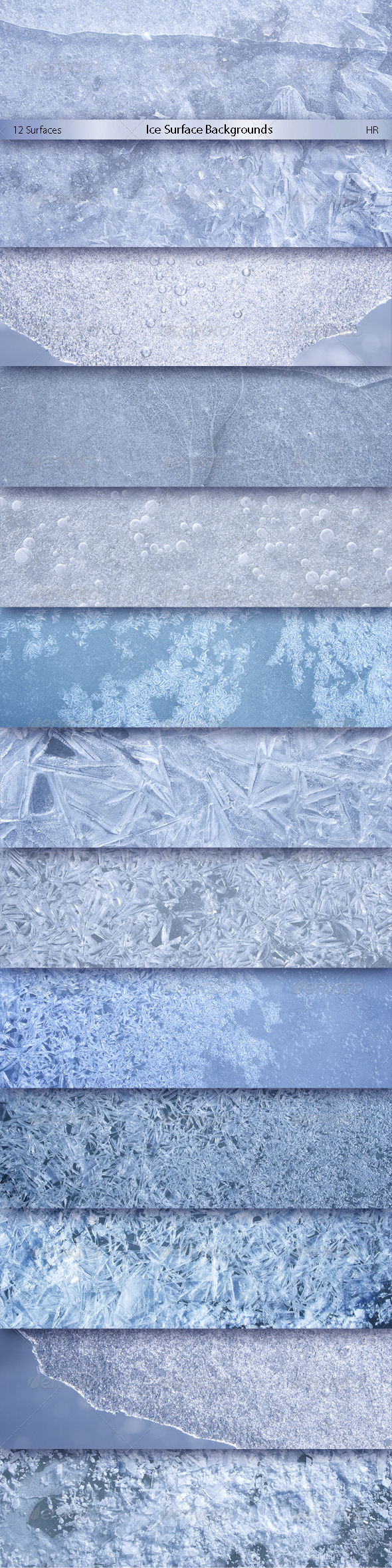 GraphicRiver Ice Surface Backgrounds 7018830