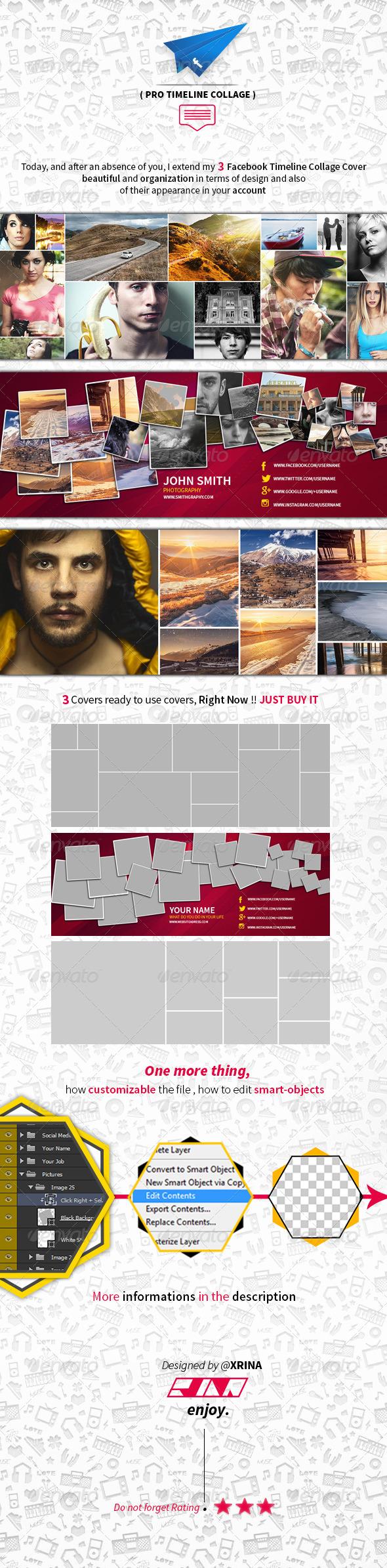 GraphicRiver Facebook Timeline Collage 7013697