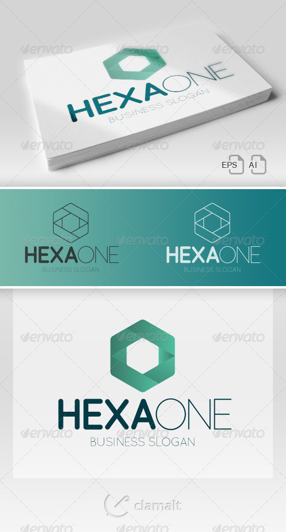 GraphicRiver HexaOne Logo 7019136