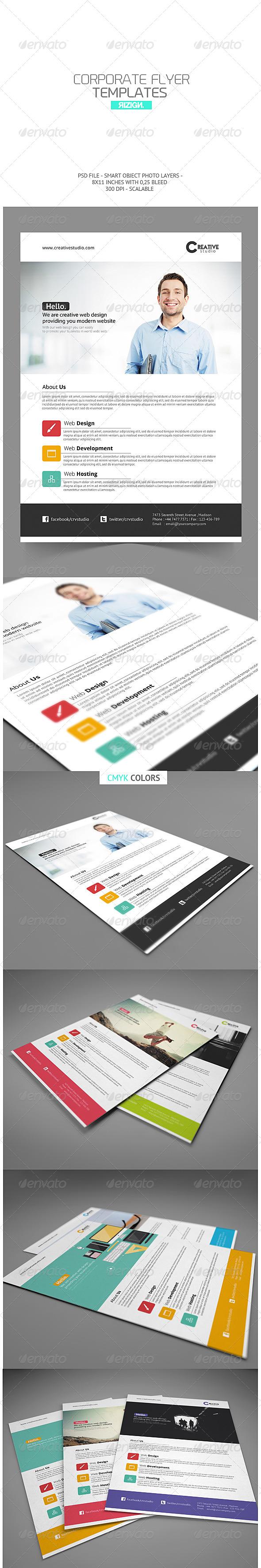 GraphicRiver Corporate Flyer 7019663