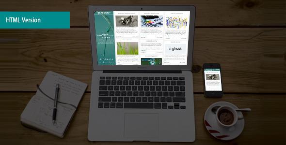 Dragonfly Elegant Blog & Portfolio Html Template