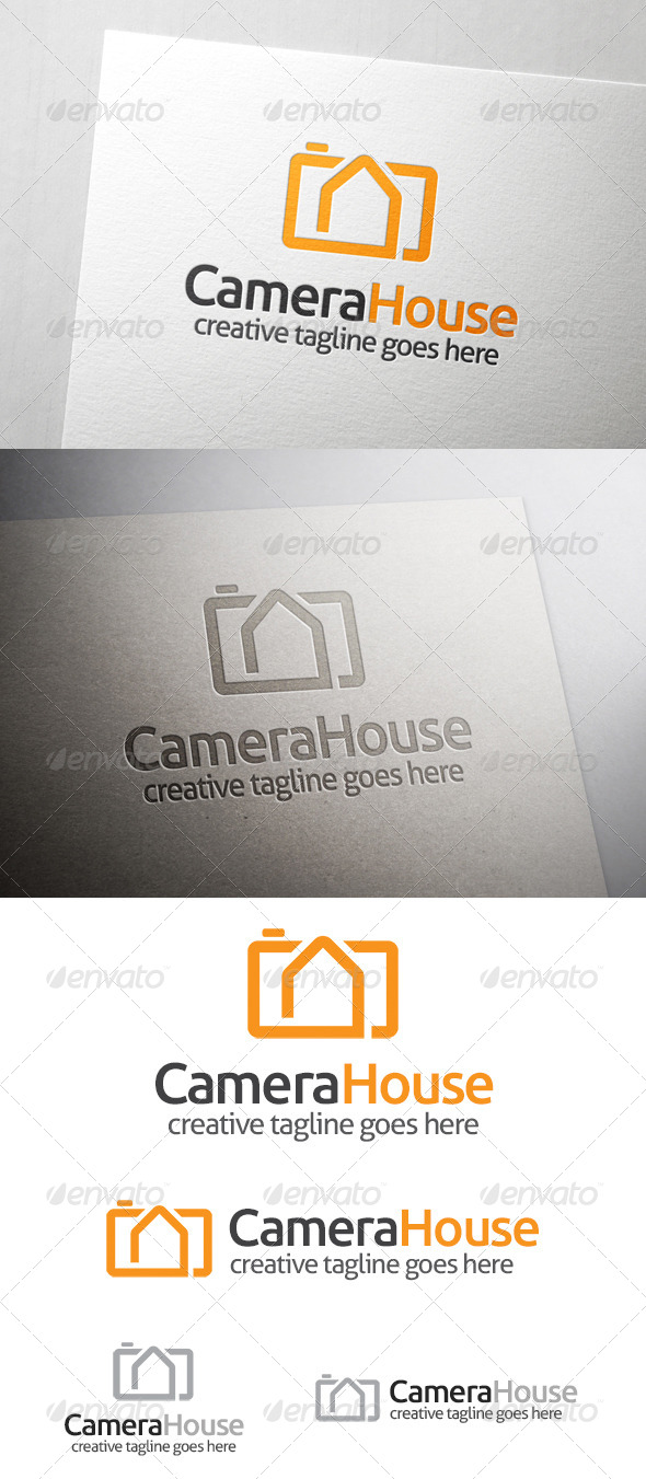 GraphicRiver Camera House Logo 7020394
