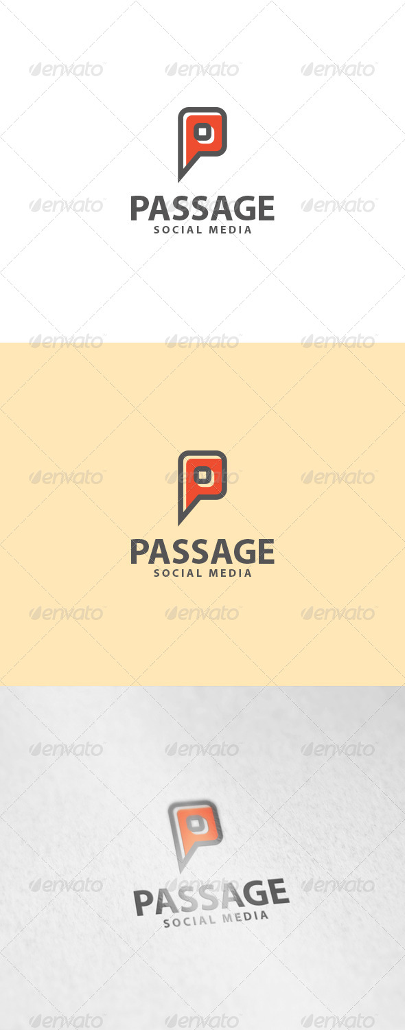GraphicRiver Passage Logo 7021349