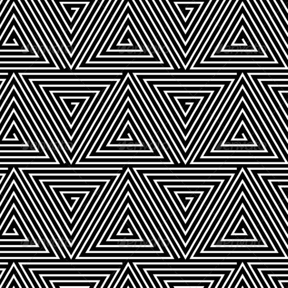 Hypnotic Background Seamless Pattern