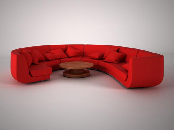 3DOcean Modern Sofa 7021512