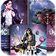 Out Of Space Party Flyer Bundle - GraphicRiver Item for Sale