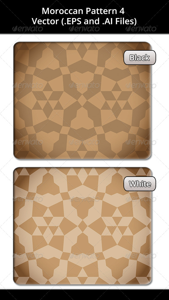 Moroccan Pattern 4 - Decorative Vectors