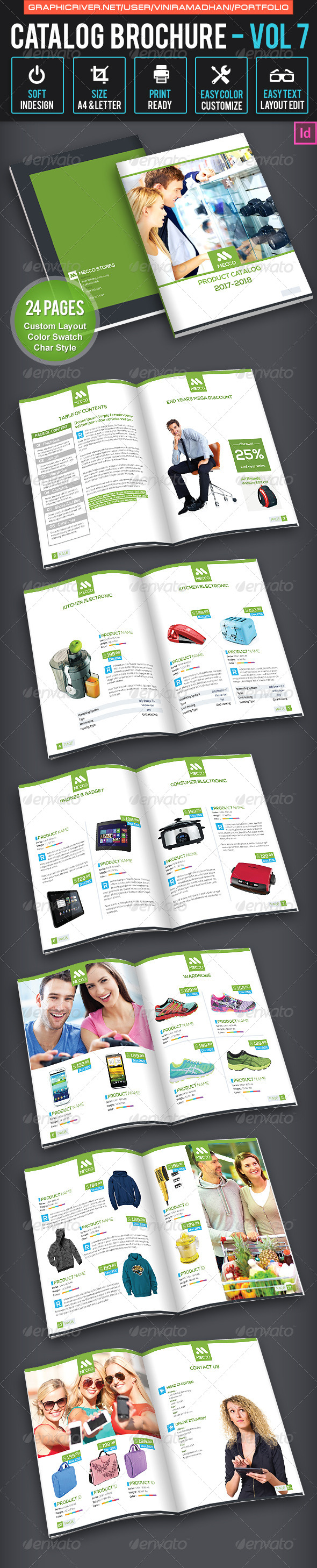 GraphicRiver Product Catalogs Brochure Volume 7 7022062