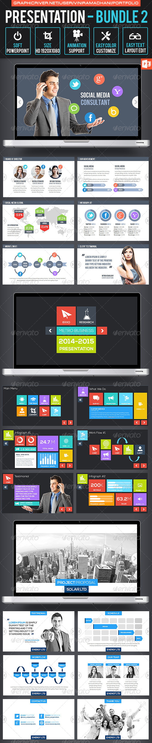 GraphicRiver Presentation Bundle 2 7022109