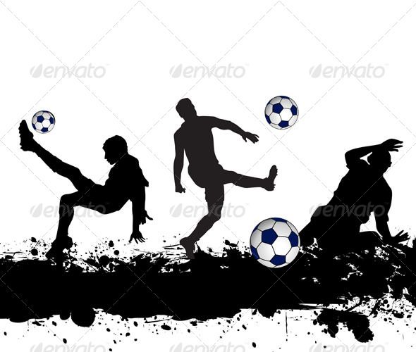 GraphicRiver Soccer Players 7022136