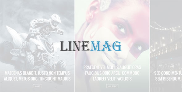 Linemag Theme makes it easy to fully customize the Layout, Colors and Style within minutes. Due to its superb flexibility of its framework, it allows you to cre