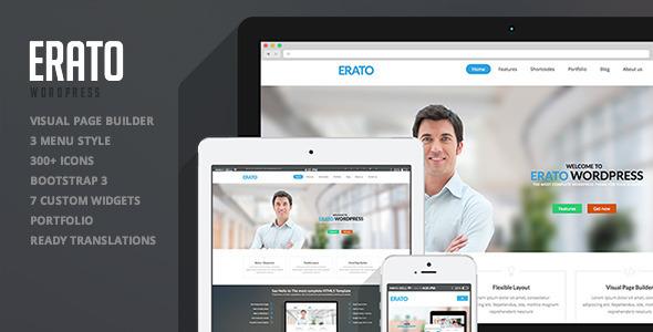 ThemeForest Erato Multipurpose WordPress Theme 7022408