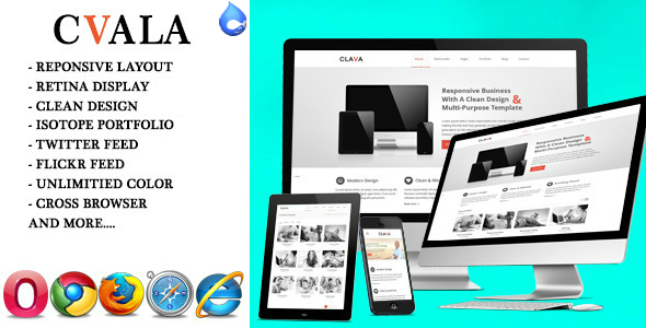 Cvala - Responsive Multi-Purpose Drupal Theme
