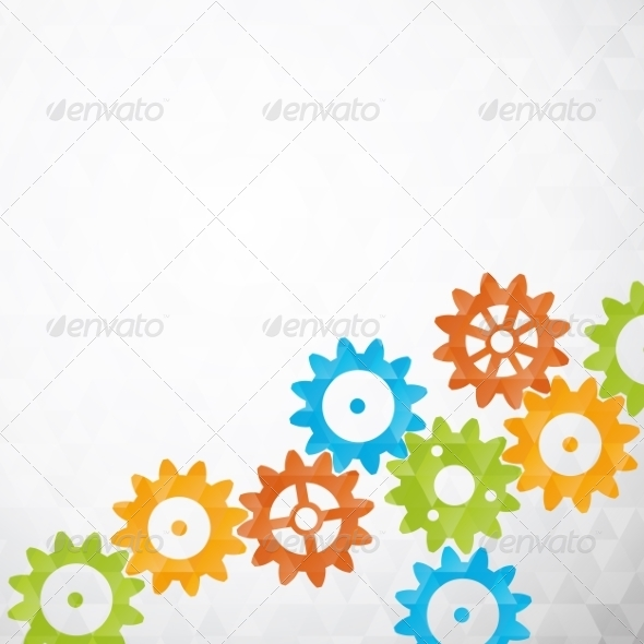 GraphicRiver Cog Wheels 7022601