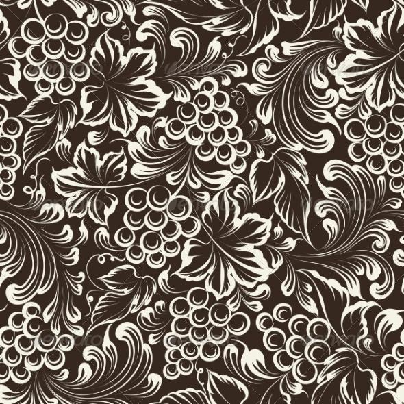 GraphicRiver Vine Seamless Background 7022641
