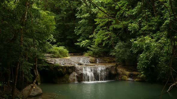 VideoHive Waterfall In Forest 19027172