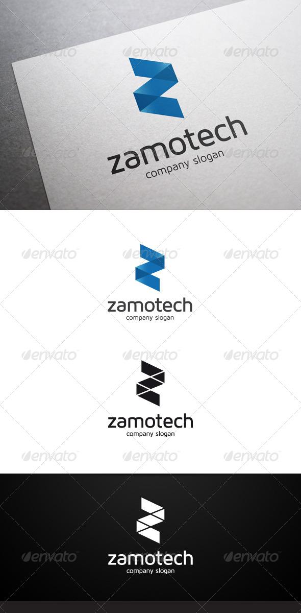 GraphicRiver Zamotech Z Letter Logo 7023239
