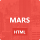 Mars: Portfolio and Blog Template - ThemeForest Item for Sale