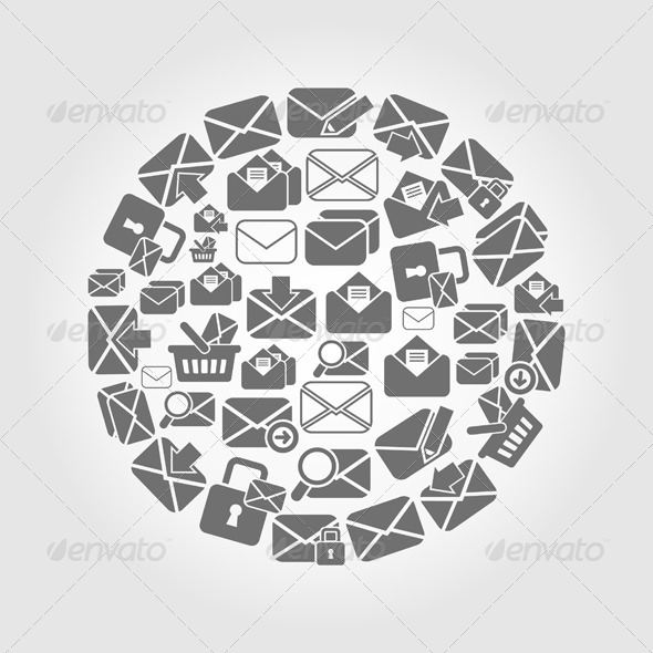GraphicRiver Letter Circle 7023824