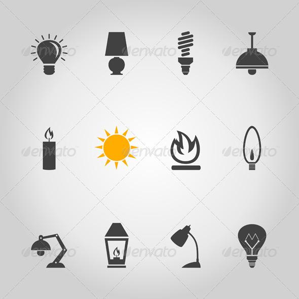 GraphicRiver Light Icon 7023826
