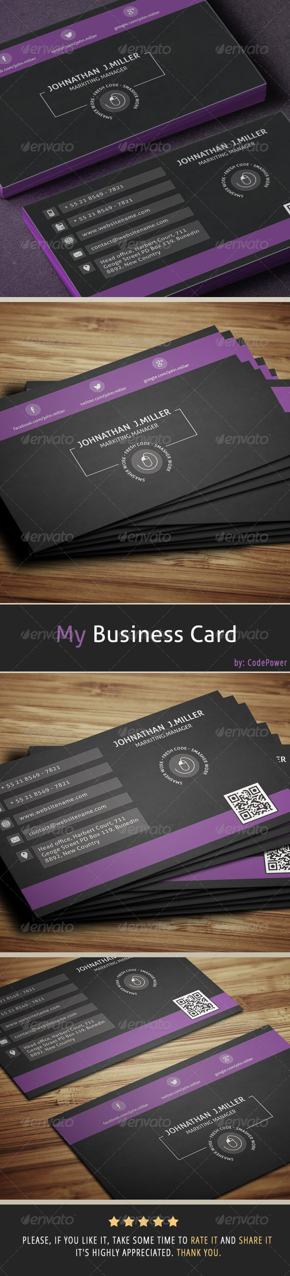 GraphicRiver My Business Card 7024039