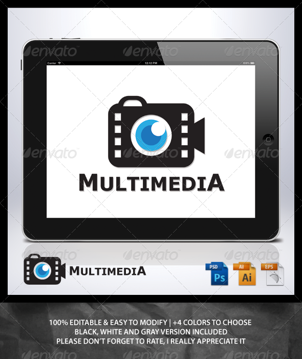 GraphicRiver Multimedia Logo 7024424