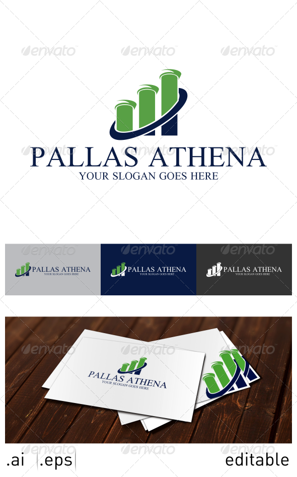 GraphicRiver Pallas Athena Logo Template 7025127
