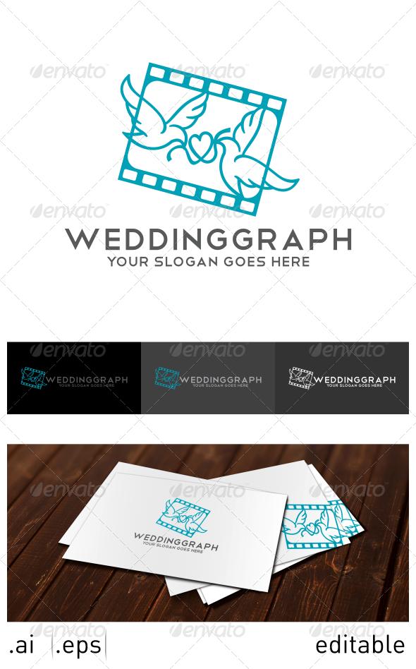 GraphicRiver Weddinggraph Logo Template 7025330