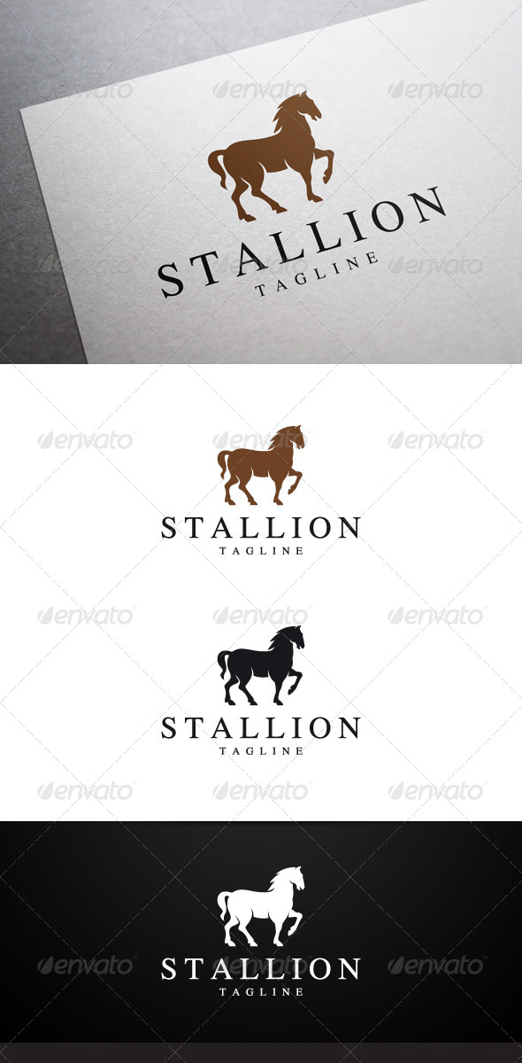 GraphicRiver Stallion Logo 7025584