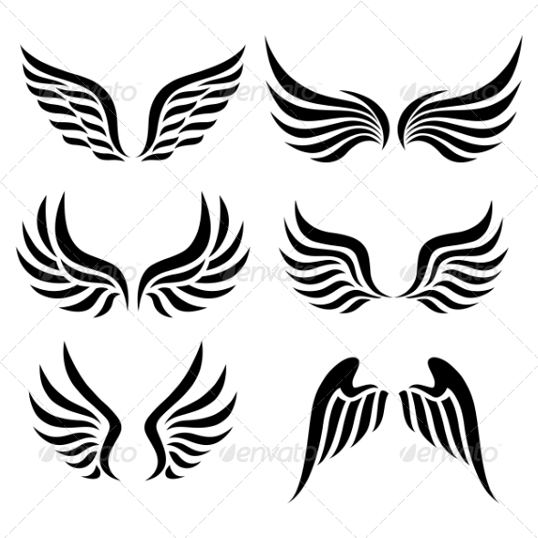 GraphicRiver Wings Set 7025670