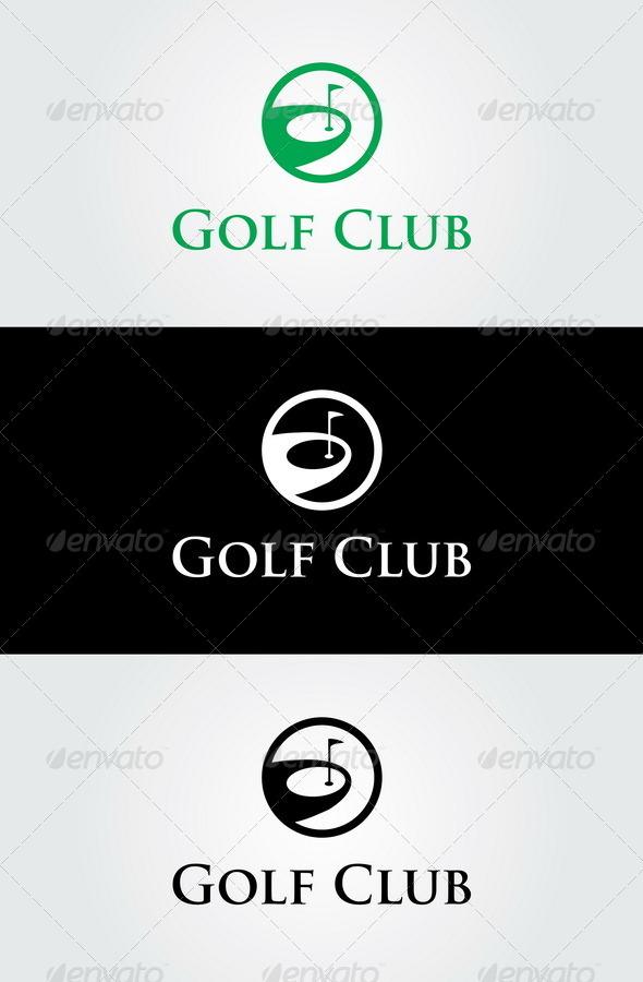 GraphicRiver Golf Club Logo Template 7025718