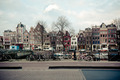 Amsterdam Canal Street view. Horizontal shot - PhotoDune Item for Sale