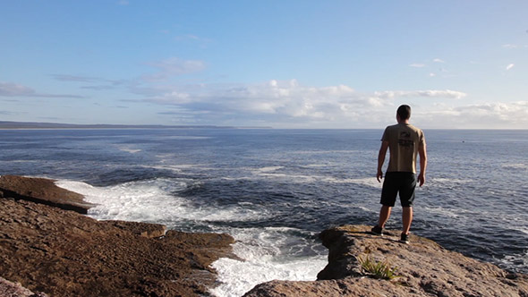 Looking Over the Ocean