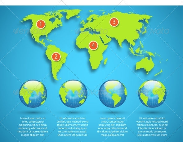 GraphicRiver World Map 7027589