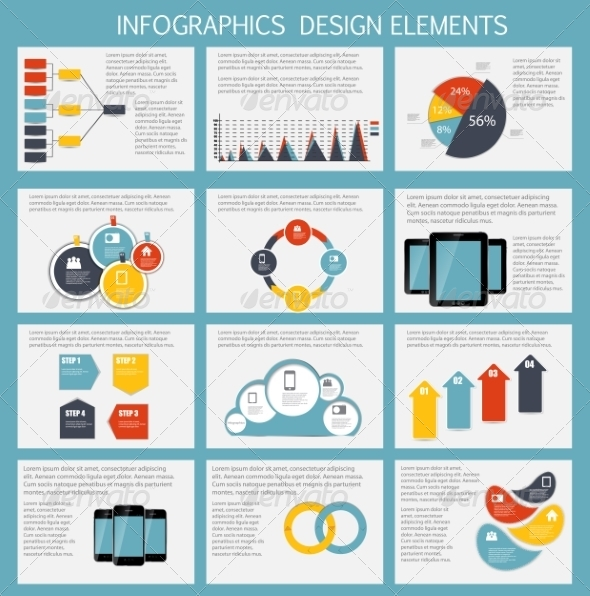 GraphicRiver Infographic Business Template 7027935