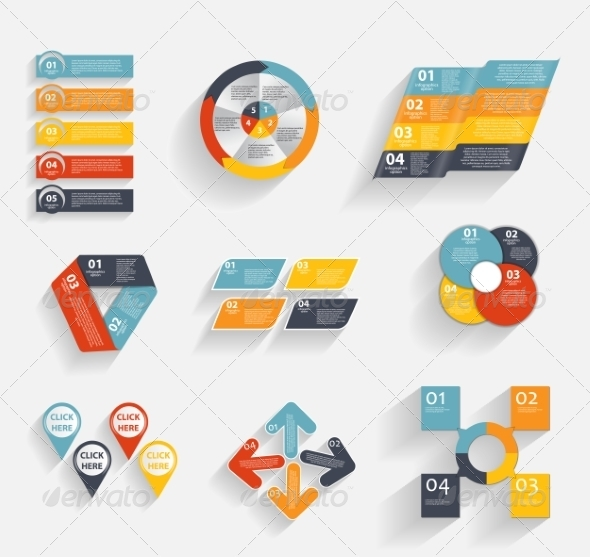 GraphicRiver Collection of Infographic Templates for Business 7028168