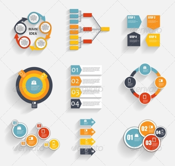 GraphicRiver Collection of Infographic Templates for Business 7028180