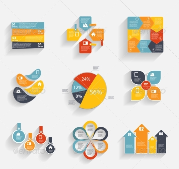 GraphicRiver Collection of Infographic Templates for Business 7028185