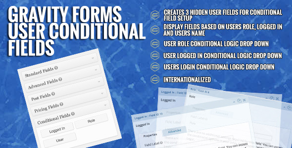 CodeCanyon Gravity Forms User Conditional Fields 7028469